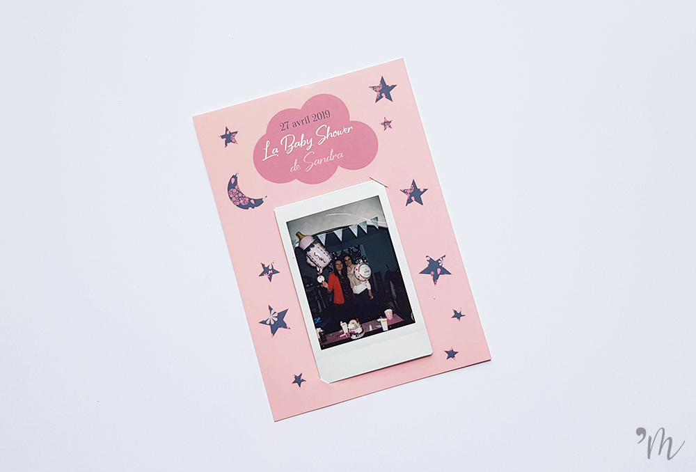 polaroid baby shower nuage liberty apostrophe m